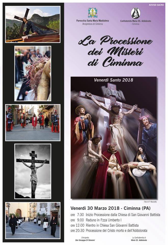 La processione dei Misteri del Venerdì Santo